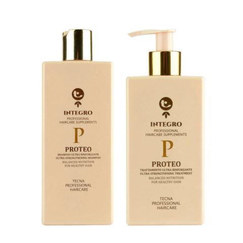 Tecna Integro Proteo Kit Shampoo 250ml Treatment 200ml - Kit Champú y Tratamiento