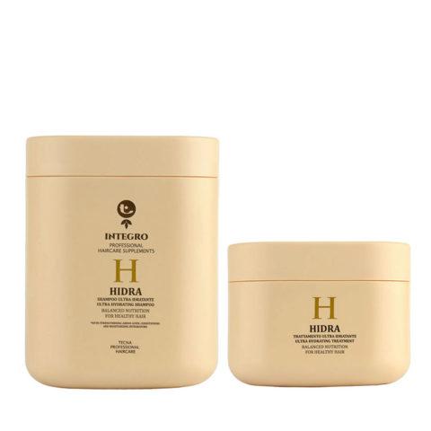 Tecna Integro Hidra Kit Shampoo 1000ml Treatment 500ml