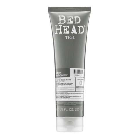 Tigi Bed Head Urban Antidotes 0 Reboot Shampoo 250ml - Cuero Cabelludo Sensible