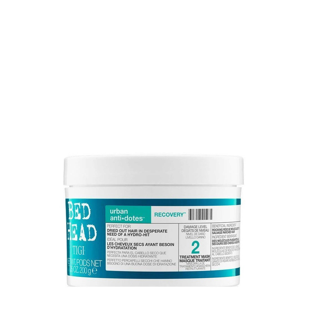 Tigi Urban Antidotes Recovery treatment mask 200gr - Mascarilla de Reestructuración nivel 2