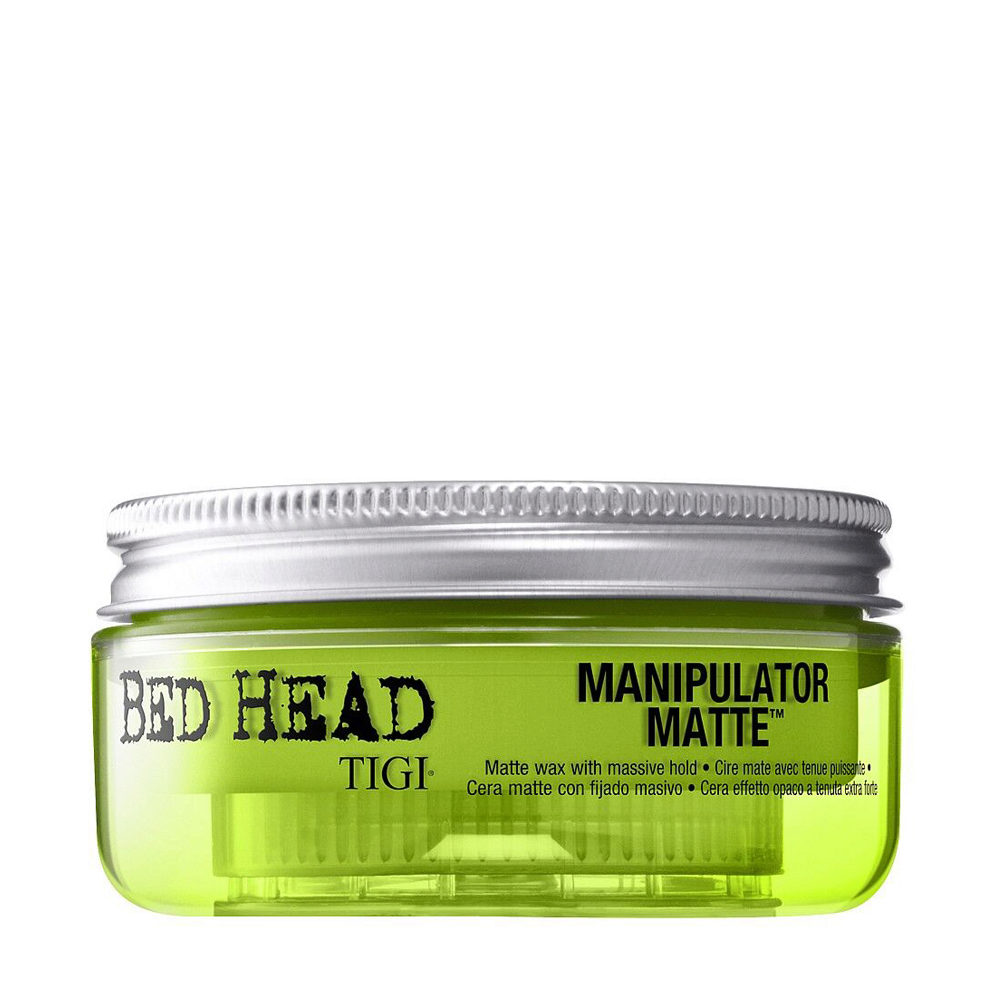 Tigi Bed Head Manipulator Matte 57gr - Cera Matte con Fijado Masivo