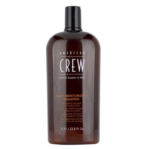 American crew Daily moisturizing shampoo 1000ml - champù hidratante diario