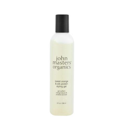 John Masters Organics Haircare Sweet Orange & Silk Protein Styling Gel 236ml