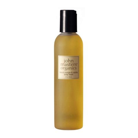 John Masters Organics Blood Orange & Vanilla Body Wash 236ml - gel de Baño de Naranja y Vainilla