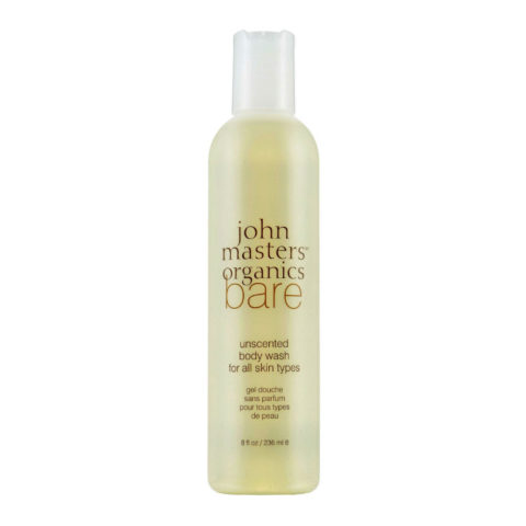 John Masters Organics Bare Unscented Body Wash for All Skin Types 236ml - Gel de ducha