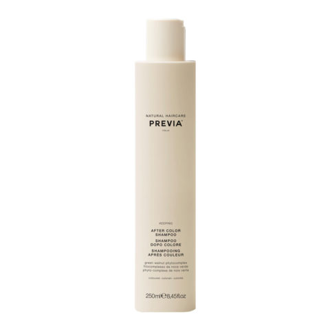 Previa Keeping Organic Green Walnut Colour Shine Shampoo 250ml