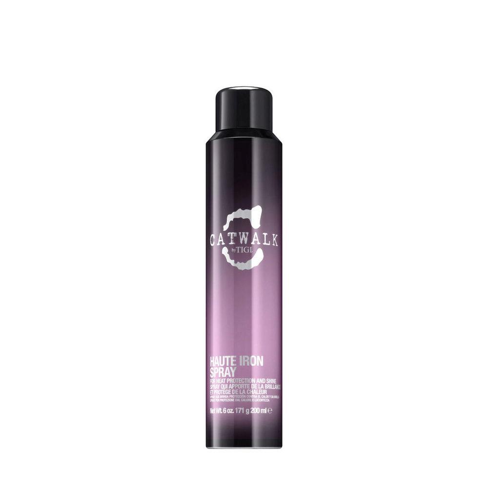 Tigi Catwalk Headshot Haute Iron Spray 200ml - espray con protecciòn térmica