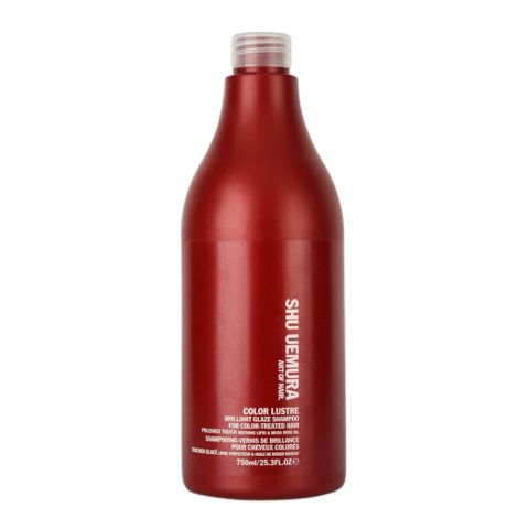 Shu Uemura Color lustre Brilliant glaze shampoo 750ml - champù para el cabello de color