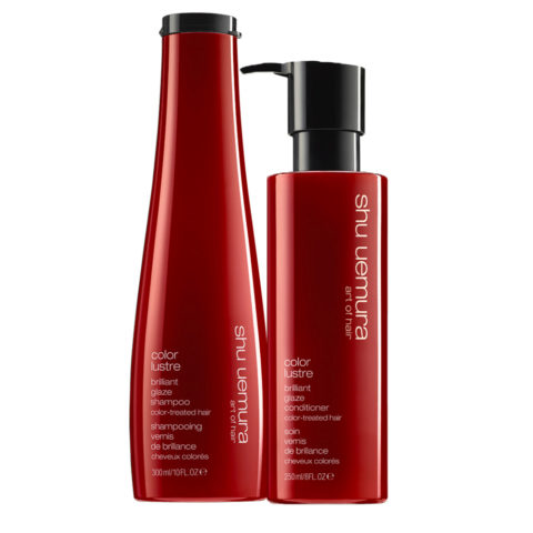 Shu Uemura Color Lustre Kit Shampoo 300ml Conditioner 250ml - Champú y Acondicionador
