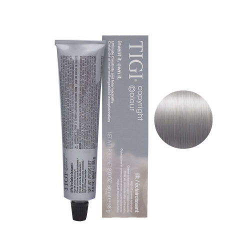 100/88 Ultra platinum blonde extra smoke Tigi Lift 60ml