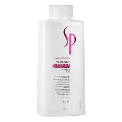 Wella System Professional Color Save Shampoo 1000ml - champù cabellos teñido