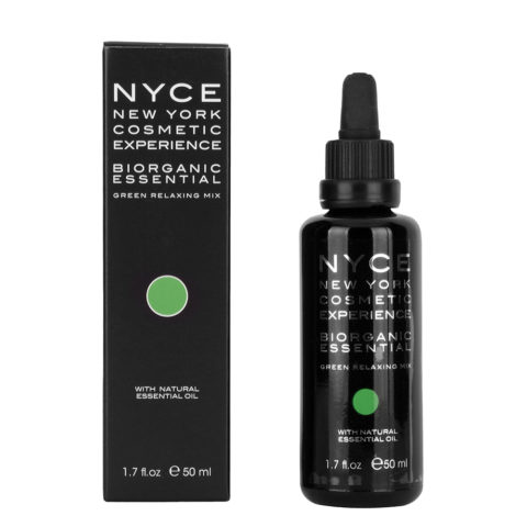 Nyce Biorganic essential Green relaxing mix 50ml - Aceite esencial relajante