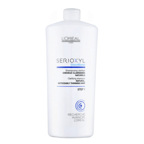L'Oreal Serioxyl Clarifying shampoo cabello natural 1000ml