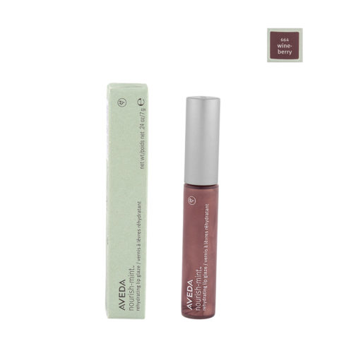 Aveda Nourish Mint Lip Glaze 664 Wineberry 7gr
