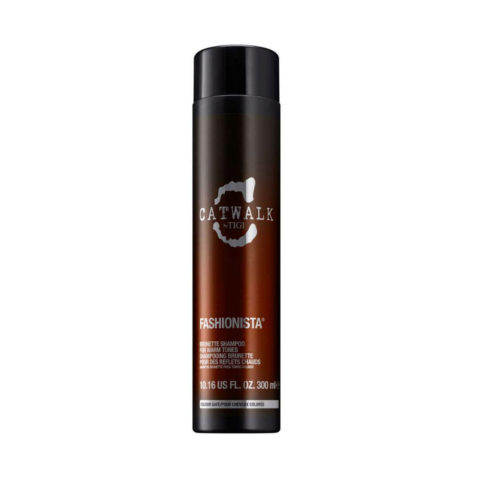 Tigi Catwalk Fashionista Brunette shampoo 300ml - champù para tonos cálidos