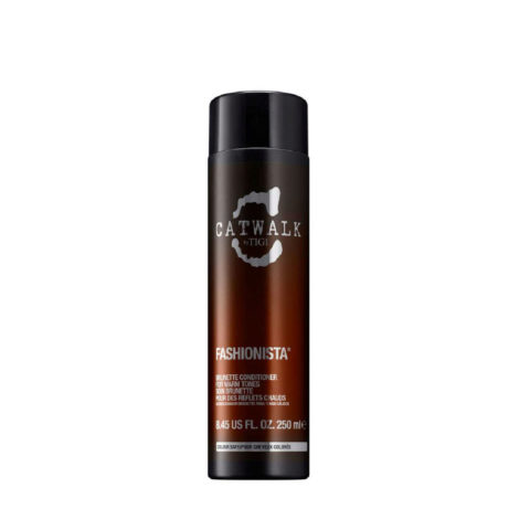 Tigi Catwalk Fashionista Brunette conditioner 250ml - acondicionador para tonos cálidos