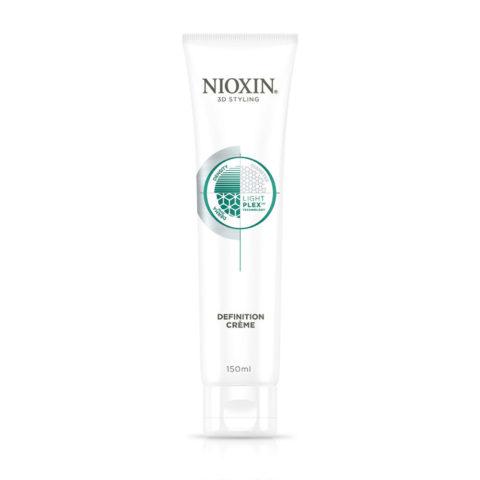 Nioxin 3D Styling Definition Crème 150ml - Crema suave anti-encrespamiento para más definición, textura y fijación