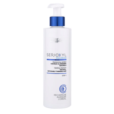 L'Oreal Serioxyl Clarifying shampoo cabello natural 250ml
