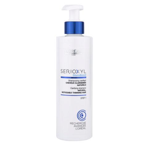L'Oreal Serioxyl Clarifying shampoo cabello natural 250ml