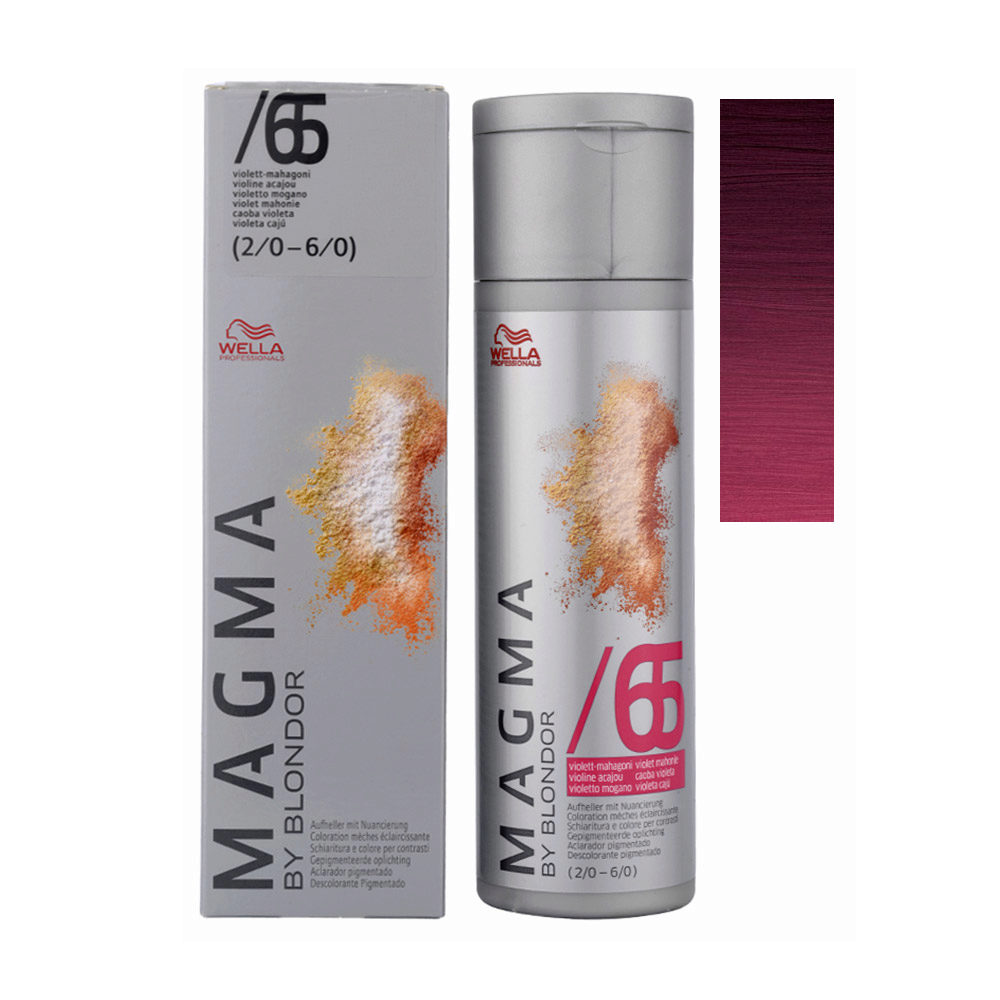 /65 Violeta caoba Wella Magma 120gr