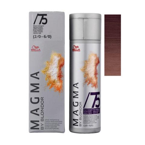 /75 Castaño caoba Wella Magma 120gr