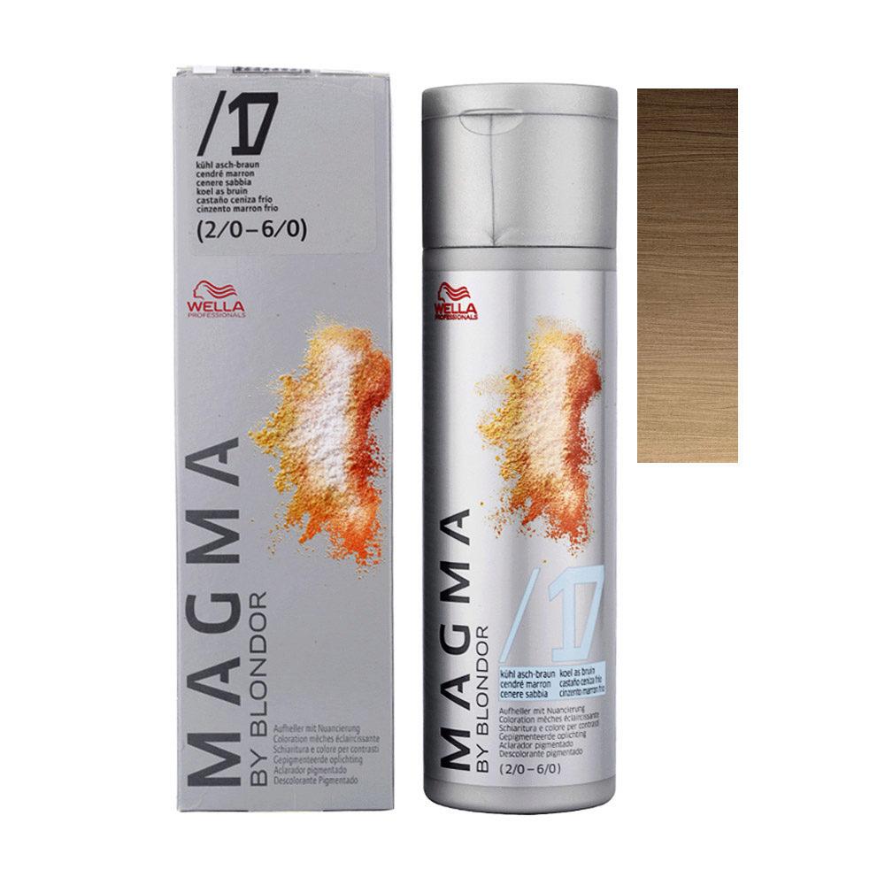 /17 Castaño ceniza Wella Magma 120gr
