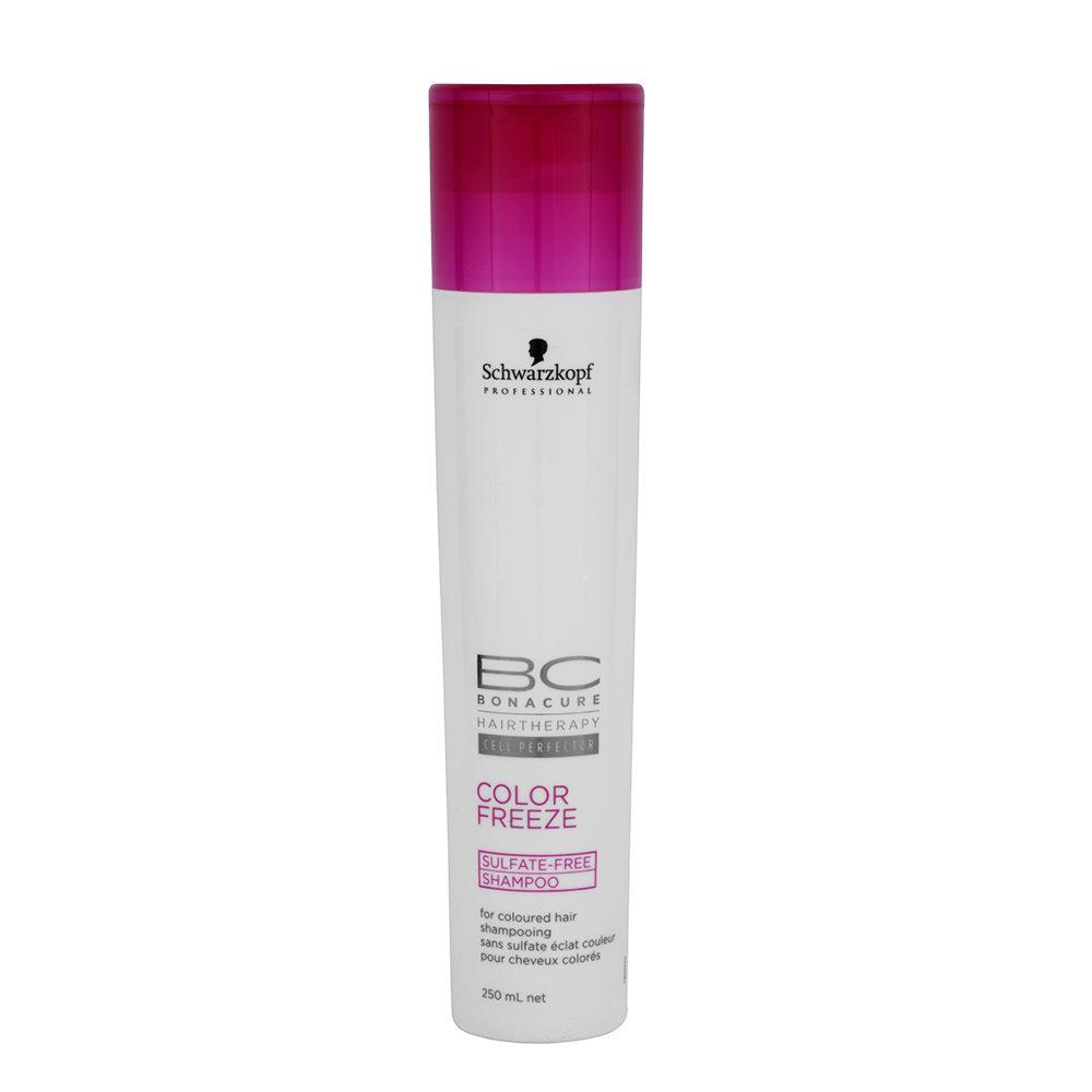 Schwarzkopf BC Bonacure Color Freeze Sulfate Free Shampoo 250ml - Champú para cabello coloreado