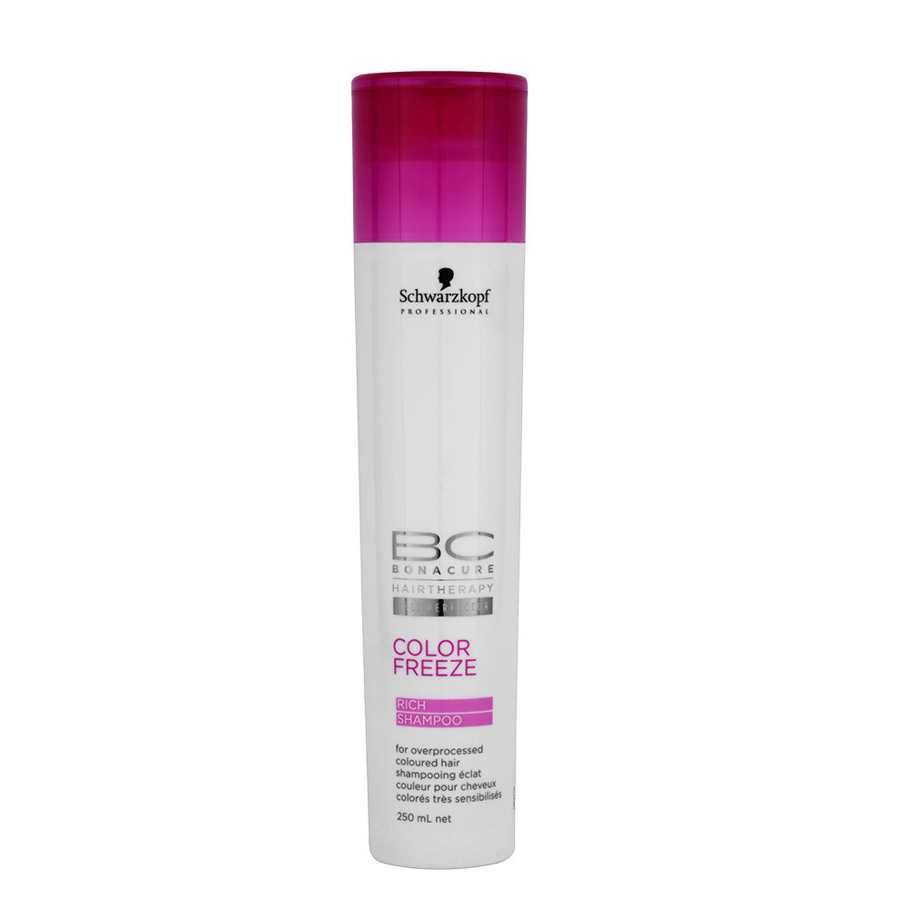 Schwarzkopf BC Bonacure Color Freeze Rich Shampoo 250ml - champù para el cabello de color