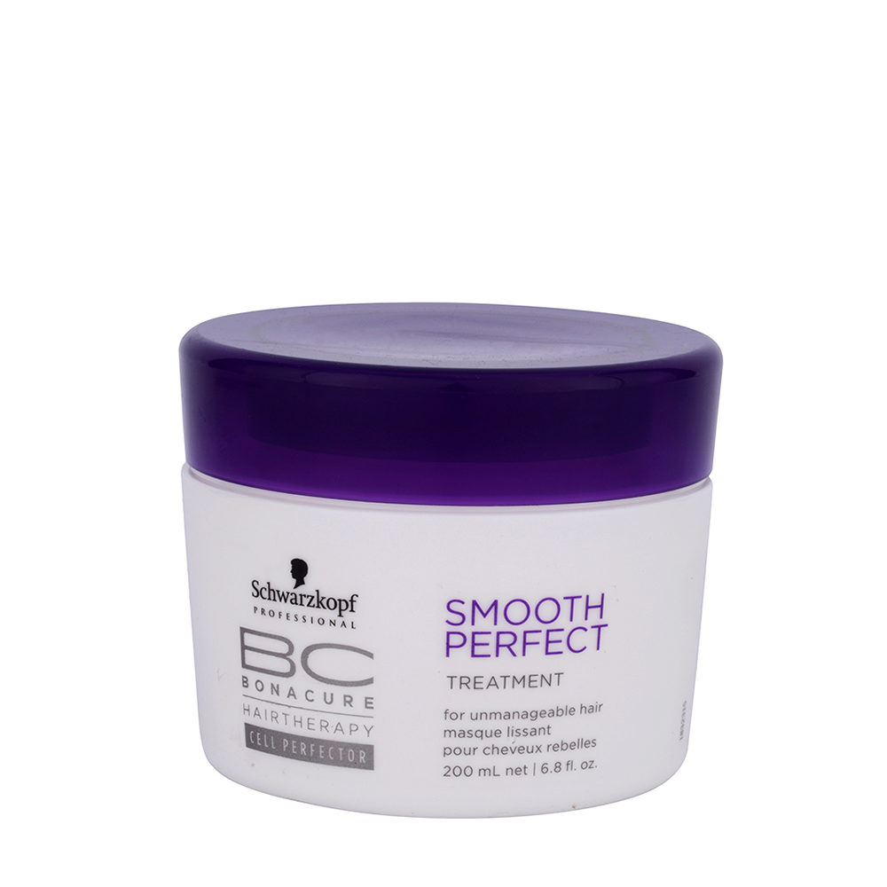 Schwarzkopf BC Bonacure Smooth Perfect Treatment 200ml - tratamiento anti-encrespamiento