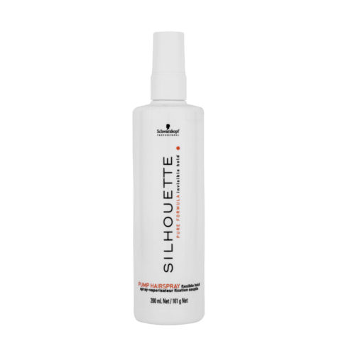 Schwarzkopf Silhouette Flexible Hold Pump Hairspray 200ml - Spray de acabado de fijación variable
