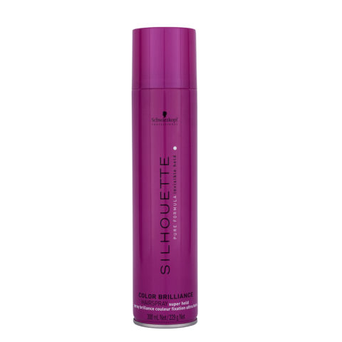 Schwarzkopf Silhouette Color Brilliance Super Hold Hairspray 300ml - laca fuerte