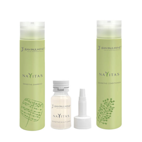 Jean Paul Mynè Navitas Kit Shampoo 250ml Scalp care 10x15ml Conditioner 250ml