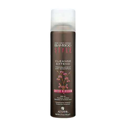 Alterna Bamboo Style Cleanse extend Sheer blossom 135gr - champù seco