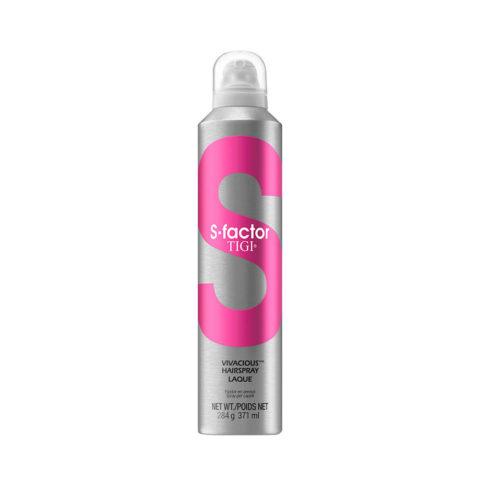 Tigi S-Factor Vivacious Hairspray 371ml - laca fijaciòn media