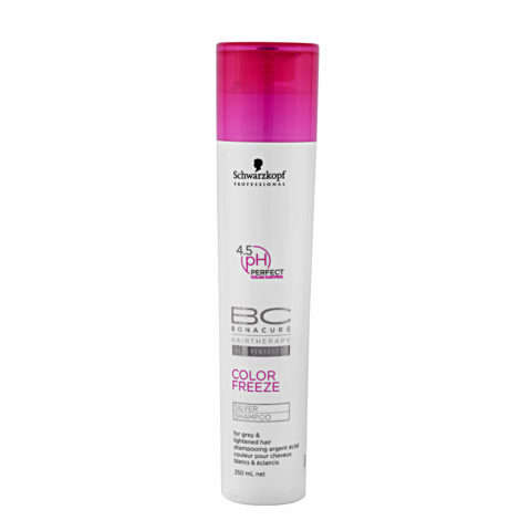 Schwarzkopf BC Bonacure Color Freeze Silver Shampoo 250ml - Champú para tonos fríos