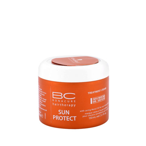 Schwarzkopf BC Bonacure Sun Protect Treatment Cream 150ml - Mascarilla reparadora para después del sol