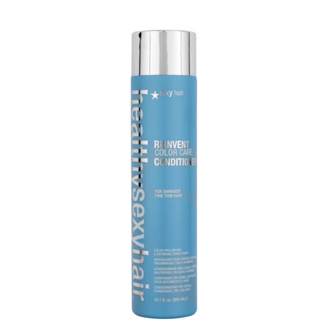Healthy Sexy Hair Reinvent Color Care Conditioner For Damaged Fine/Thin Hair 300ml