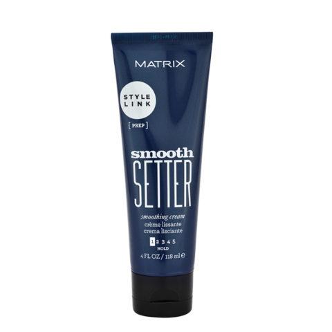 Matrix Style link Prep Smooth setter Anti-frizz hair smoothing cream 118ml