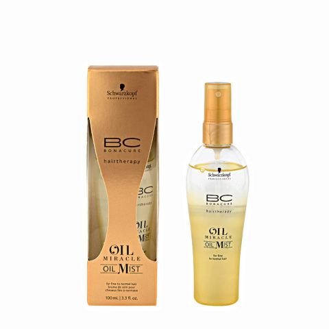Schwarzkopf Professional BC Oil miracle Oil mist Fine to normal hair 100ml - aceite multifuncional