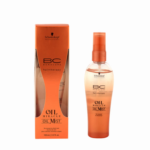 Schwarzkopf Professional BC Oil miracle Oil mist Normal to thick hair 100ml - aceite multifuncional