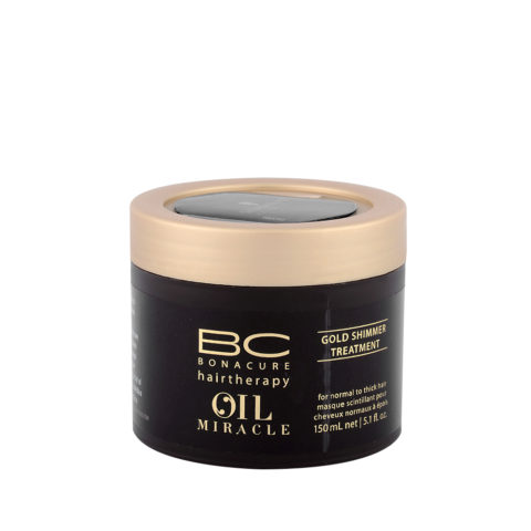 Schwarzkopf Professional BC Oil miracle Gold shimmer Treatment Normal to thick hair 150ml - Mascarilla reestructurante