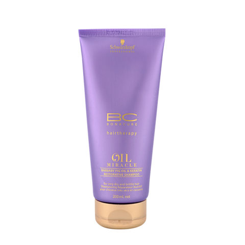 Schwarzkopf Professional BC Oil miracle Barbary fig oil & keratin Restorative shampoo 200ml - champù con keratina