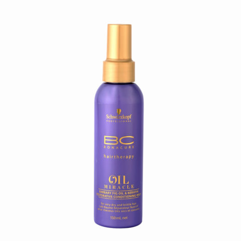 Schwarzkopf Professional BC Oil miracle Barbary fig oil & keratin Restorative conditioning milk 150ml - multifuncional