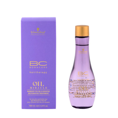 Schwarzkopf Professional BC Oil miracle Barbary fig oil & keratin Restorative treatment 100ml - aceite multifuncional