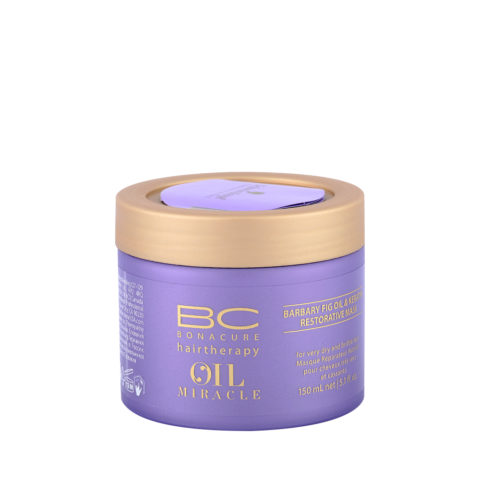 Schwarzkopf Professional BC Oil miracle Barbary fig Oil restorative mask 150ml - Mascarilla reestructurante