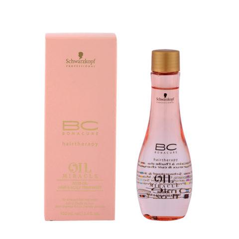 Schwarzkopf Professional BC Oil miracle Rose oil Hair & scalp treatment 100ml - aceite para cuero cabelludo