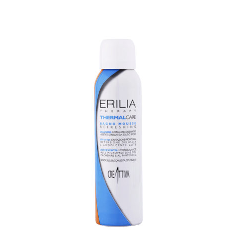 Erilia Thermal care Bagno mousse Refreshing 150ml - champù mousse humectante