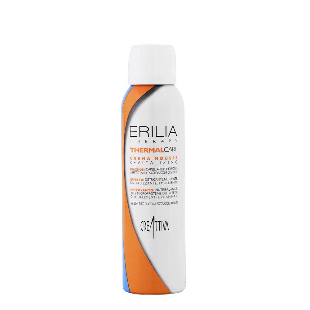 Erilia Thermal care Crema mousse Revitalizing 150ml - mousse acondicionador