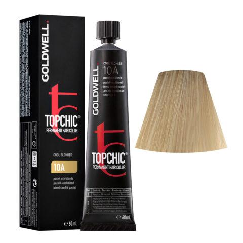 10A Rubio ceniza pastel Goldwell Topchic Cool blondes tb 60ml