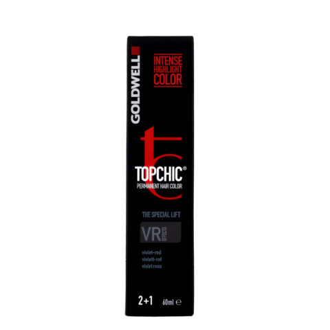 VR EFFECTS Violeta rojo Goldwell Topchic Special lift effects tb 60ml